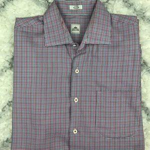 Peter Millar long sleeve button down shirt